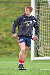 Blake Boyland of Bristol Academy U18 during the pre match warm up - Mandatory by-line: Craig Thomas/JMP - 03/02/2018 - RUGBY - SGS Wise Campus - Bristol, England - Bristol U18 v Harlequins U18 - Premiership U18 League