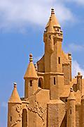Castle, Sand sculpture festival on the Haifa beach, July 2006