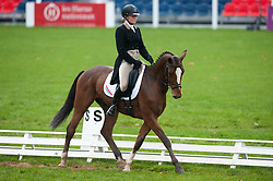 Bleekman Althea (NED) - Anmarsch<br /> FEI World Championship for Young Horses Le Lion d'Angers 2012<br /> © Hippo Foto - Jon Stroud