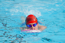 © Licensed to London News Pictures. 29/03/2021. Hathersage, UK. A member of the public exercises at Hathersage Swimming Pool in Derbyshire, as restrictions are further eased during the coronavirus pandemic. Photo credit:  Ioannis Alexopoulos/LNP