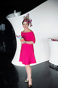 Milliner Caitriona King  in the g hotel for the launch of The Galway Races 2016 Summer Festival which runs from the 25th of July to the 31st of July in Galway City. Photo: Andrew Downes :