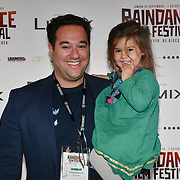 Director Richard Raymond and daughter attend 'Souls of Totality' film at Raindance Film Festival 2018, London, UK. 30 September 2018.