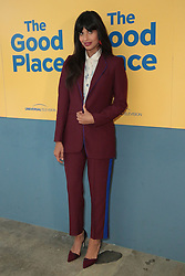 June 20, 2018 - Los Angeles, California, USA - 6/19/18.Jameela Jamil at the Universal Television Network For Your Consideration Event for ''The Good Place'' held at the UCB Sunset Theatre in Los Angeles, CA. (Credit Image: © Starmax/Newscom via ZUMA Press)