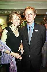 The EARL & COUNTESS OF WOOLTON at a reception<br />  in London on 15th June 2000.OFH 68<br /> © Desmond O'Neill Features:- 020 8971 9600<br />    10 Victoria Mews, London.  SW18 3PY <br /> www.donfeatures.com   photos@donfeatures.com<br /> MINIMUM REPRODUCTION FEE AS AGREED.<br /> PHOTOGRAPH BY DOMINIC O'NEILL