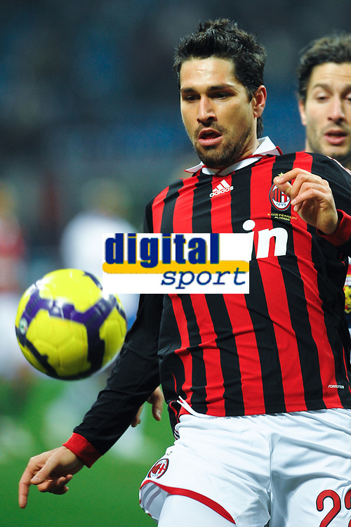 Fotball<br /> Italia<br /> Foto: Inside/Digitalsport<br /> NORWAY ONLY<br /> <br /> Marco BORRIELLO Milan<br /> <br /> 06.01.2010<br /> Milan v Genoa 5-2