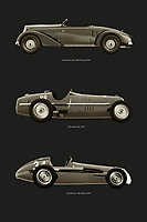 Alfa Romeo is one of the most legendary car brands in the world and Italy is proud of it. Alfa Romeo has always pursued sportiness in its cars, both on the race track and on the road. Here you can find the Alfa Romeo Pescara, the Alfetta and the Alfa 8c. –<br /> -<br /> BUY THIS PRINT AT<br /> <br /> FINE ART AMERICA / PIXELS<br /> ENGLISH<br /> https://janke.pixels.com/featured/most-legendary-alfa-romeos-jan-keteleer.html<br /> <br /> <br /> WADM / OH MY PRINTS<br /> DUTCH / FRENCH / GERMAN<br /> https://www.werkaandemuur.nl/nl/shopwerk/De-meeste-legendarische-Alfa-Romeo-s/797712/132?mediumId=1&size=50x75<br /> –<br /> -