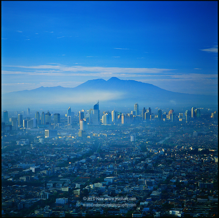 Jakarta & Mount Gede-Pangrango, Java, Indonesia.