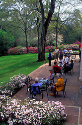 Stock photo of people enjoying a nice afternoon at Bayou Bend Park in Houston Texas