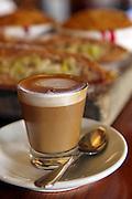 Small glass of Espresso Coffee