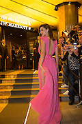 MIRANDA KERR LEAVES MAGNUM BEACH - 68th CANNES FILM FESTIVAL<br /> ©Exclusivepix Media