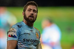 January 19, 2019 - Limerick, Ireland - Santiago Cordero of Exeter looks on during the Heineken Champions Cup match between Munster Rugby and Exeter Chiefs at Thomond Park in Limerick, Ireland on January 19, 2019  (Credit Image: © Andrew Surma/NurPhoto via ZUMA Press)