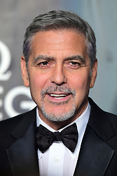 George Clooney attending the Lost in Space event to celebrate the 60th anniversary of the OMEGA Speedmaster held in the Turbine Hall, Tate Modern, 25 Sumner Street, Bankside, London. PRESS ASSOCIATION Photo. Picture date: Wednesday 26 April  2017. Photo credit should read: Ian West/PA Wire