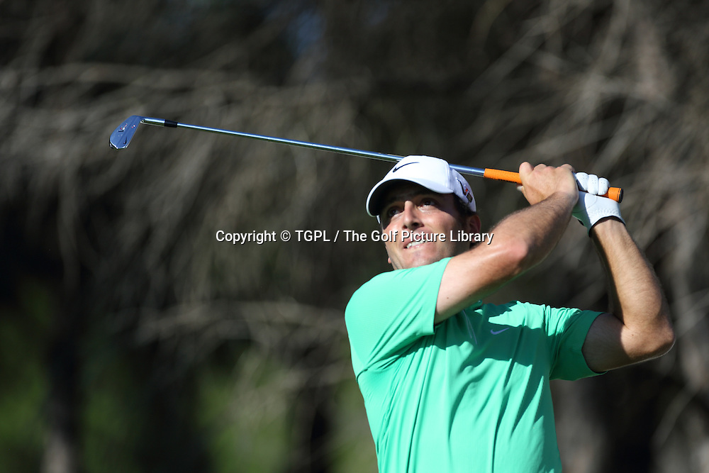 Francesco MOLINARI (ITA) during second round Turkish Airlines Open by Ministry of Culture and Tourism 2013,Montgomerie Course at Maxx Royal,Belek,Antalya,Turkey.