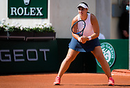 Ana Konjuh of Croatia during the first round of the Roland-Garros 2021, Grand Slam tennis tournament on May 30, 2021 at Roland-Garros stadium in Paris, France - Photo Rob Prange / Spain ProSportsImages / DPPI / ProSportsImages / DPPI