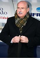 Lorenzo SERRA FERRER, Spanish Betis Football coach, wrapped in a scarf. Getafe - Betis / League 2005-06. Alfonso Perez Coliseum, Getafe. 05-03-2006.