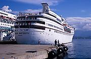 MV Ocean Majesty cruise ship at Ajaccio, Corsica, France in 1998