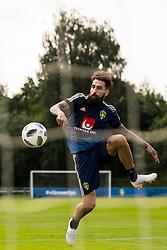 May 29, 2018 - BÃ¥Stad, Sverige - 180529 Jimmy Durmaz under Sveriges fotbollslandslags träning den 29 maj 2018 i BÃ¥stad  (Credit Image: © Petter Arvidson/Bildbyran via ZUMA Press)