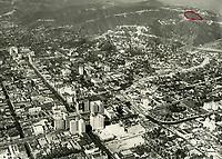 1931 Looking NW at Hollywood