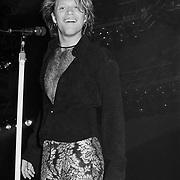 BETHLEHEM DECEMBER 31: Jon Bon Jovi performs on December 31, 1992 in Bethlehem, Pennsylvania. ©Lisa Lake
