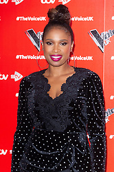 © Licensed to London News Pictures. 03/01/2019. London, UK. JENNIFER HUDSON attends The Voice UK 2019 ITV press launch. Photo credit: Ray Tang/LNP