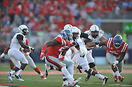 Mississippi Rebels defensive end Marquis Haynes (27) against Vanderbilt Commodores at Vaught-Hemingway Stadium at Ole Miss in Oxford, Miss. on Saturday, September 26, 2015. (AP Photo/Oxford Eagle, Bruce Newman)