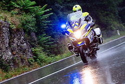 Police motorbike during 4th Stage of 26th Tour of Slovenia 2019 cycling race between Nova Gorica and Ajdovscina (153,9 km), on June 22, 2019 in Slovenia. Photo by Matic Klansek Velej / Sportida