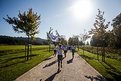 Runners during recreational jogging Zalin urbani tek, on September 21, 2019 in Ljubljana, Slovenia.  Photo by Grega Valancic / Sportida