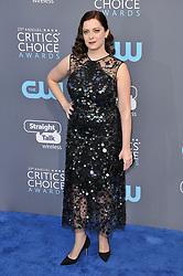 Rachel Bloom at The 23rd Annual Critics' Choice Awards held at the Barker Hangar on January 11, 2018 in Santa Monica, CA, USA (Photo by Sthanlee B. Mirador/Sipa USA)