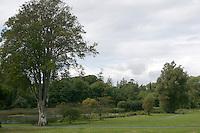 Gardens at Birr Castle Demesne in County Offaly Ireland