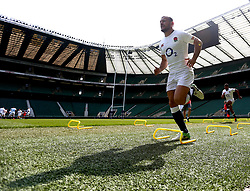 Danny Care of England takes part in training at Twickenham ahead of the upcoming tour of Argentina - Mandatory by-line: Robbie Stephenson/JMP - 02/06/2017 - RUGBY - Twickenham - London, England - England Rugby Training