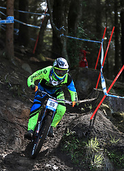 Joseph Smith of Norco Factory Racing during day one of the 2017 UCI Mountain Bike World Cup at Fort William. PRESS ASSOCIATION Photo. Picture date: Saturday June 3, 2017. Photo credit should read: Tim Goode/PA Wire. RESTRICTIONS: Editorial use only, no commercial use without prior permission