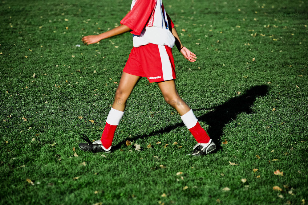 Youth soccer player.