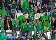Reading, Berkshire, 10th May 2003,  [Mandatory Credit; Peter Spurrier/Intersport Images], Zurich Premiership Rugby, London Irish band,