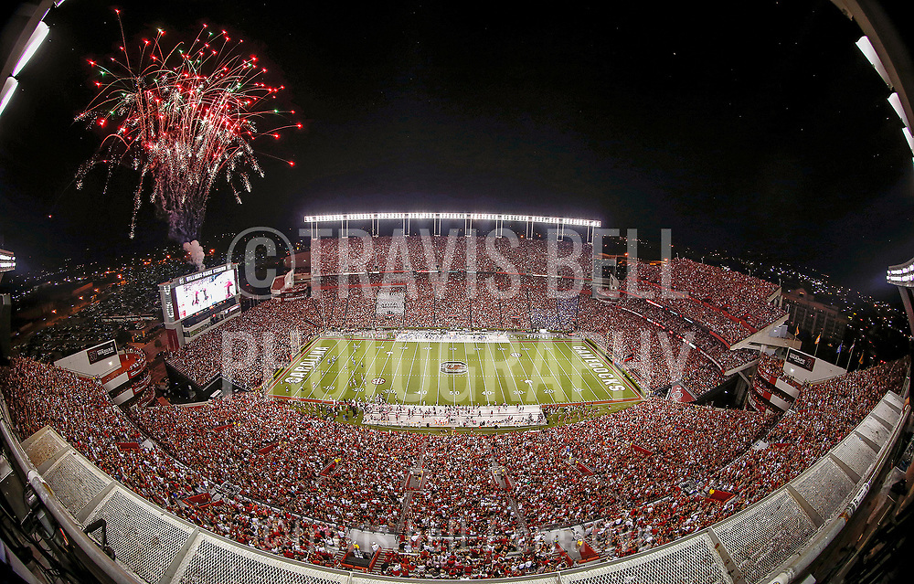 Click on Add to Cart to view available sizes and pricing.<br /> <br /> Fireworks explode over Williams-Brice Stadium as the South Carolina Gamecocks score a touchdown in Columbia, S.C.