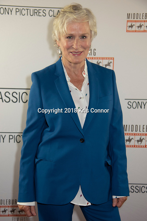 """WASHINGTON, DC- JULY 16:  Actress Glenn Close attends a  screening of Sony Pictures Classics' """"THE WIFE at AMC Georgetown on July 16th, 2018 in Washington DC. (Photo by Kris Connor/Sony Pictures Classics)"""
