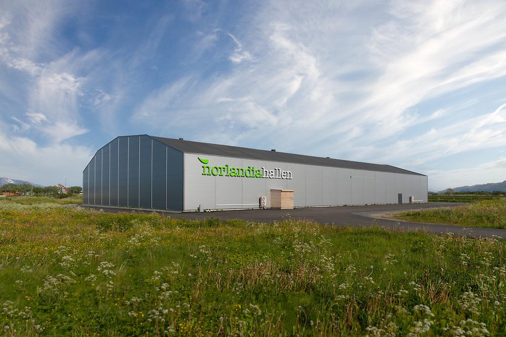 Norlandiahallen er en flerbrukshall på Andenes som leies ut til lag og foreninger samt til store arrangementer.