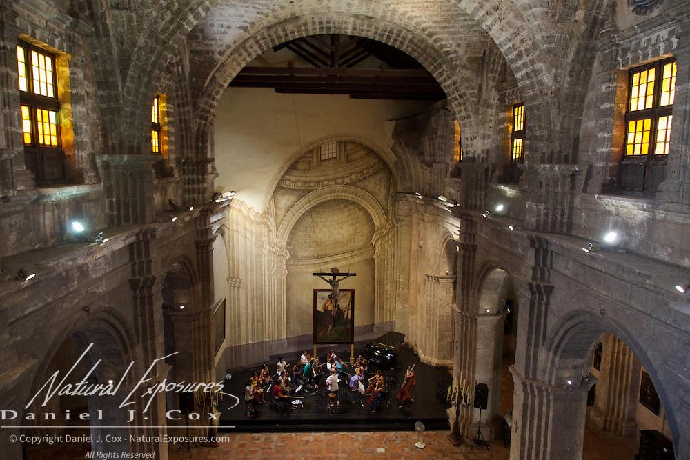 The Church of San Francisco, Havana, Cuba.