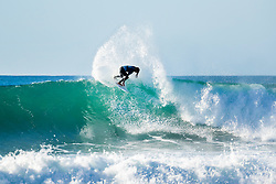 Yago Dora (BRA) is eliminated from the 2018 Coronna Open J-Bay with an equal 13th finish after placing second in Heat 7 of Round 3 at Supertubes, Jeffreys Bay, South Africa.