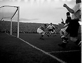 1954 -  Soccer: League of Ireland v English Football League at Dalymount Park.