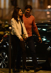 No Web No Apps Until June 15, 2014 - Spain tennis player Rafael Nadal and his girlfriend Xisca Perello are pictured leaving L'Avenue Restaurant as part of the French Tennis Open 2014 in Paris, France on June 1, 2014. Photo by ABACAPRESS.COM  Petit-copain Petit-amie Petit-ami Petit amie Petit ami Fiancee Fiance Ehemann Husband Wife Ehefrau Epoux Epouse Femme Mari Amoureux Compagne Compagnon Companion Couple Couple Girlfriend Hors-Sport Hors Sport Paparazzi Pictures Planque Stake Out  | 450440_004 Paris France
