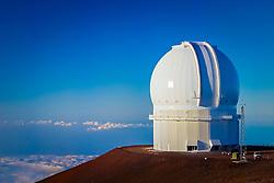 Canada-France-Hawaii Telescope or CFHT, Mauna Kea Observatories, Big Island, Hawaii
