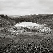 Strip Mine, near Pottsville, PA