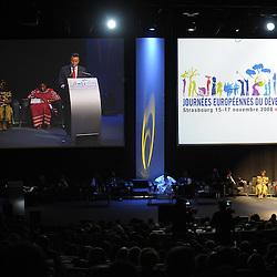 FRANCE - STRASBOURG - 15 NOVEMBRE 2008 - Journées européennes du développement 2008 - Cérémonie d'ouverture © EC/CE..FRANCE - STRASBOURG - 15 NOVEMBER 2008 - European Development Days 2008 - Opening Ceremony © EC/CE