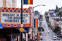 United States, California, San Francisco. The Castro is one of the United States' first and best-known gay neighborhoods.
