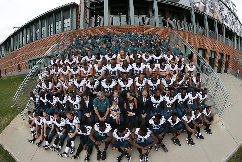during the Philadelphia Eagles Team Photo at The Novacare Complex in Philadelphia on Saturday September 24th 2016. (Brian Garfinkel/Philadelphia Eagles)