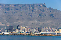 On the way from Robben Island to Waterfront in Cape Town, South Africa.