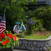The town of Cannon Beach. Oregon Coast.