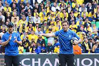 Franck AZEMA - 18.04.2015 - Clermont / Saracens - 1/2Finale European Champions Cup<br />Photo : Jean Paul Thomas / Icon Sport