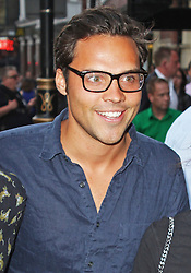 © Licensed to London News Pictures. 01/07/2013. London, UK. Andy Jordan at the A Curious Night at the Theatre - Gala Evening. Photo credit: Brett D. Cove/LNP