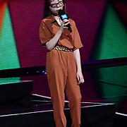 Nikki Christou On stage attend WE Day UK at Wembley Arena, London, Uk 6 March 2019.
